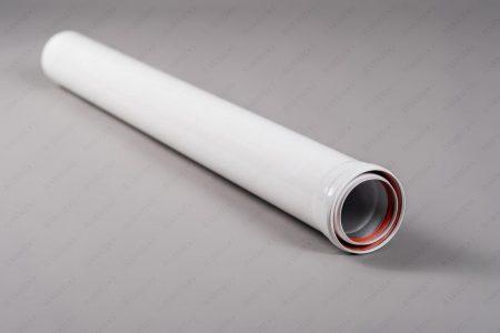 Алюминиевая труба расширеная с теплоизоляцией Ø 80-100 L длина= 250 мм (0,25 метра)