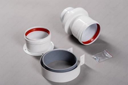 Адаптер двублочный арт. twin BX01-80mm