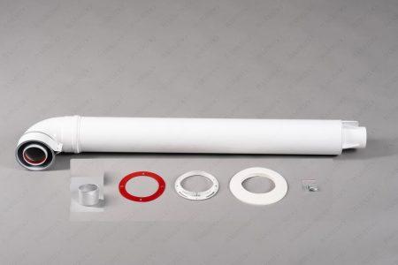 Комплект коаксиальный для горизонтального прохода через стену Ø60/100мм УНИВЕРСАЛЬНЫЙ КОМПЛЕКТ (ТИП-1)
