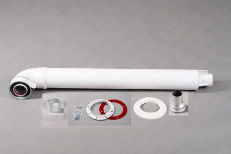 Комплект коаксиальный для горизонтального прохода через стену Ø60/100мм УНИВЕРСАЛЬНЫЙ КОМПЛЕКТ (ТИП-3)